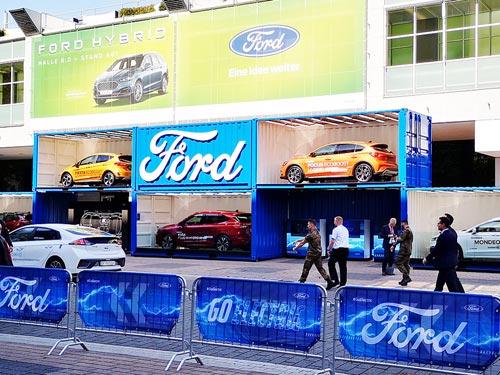 Ford новой породы. Репортаж с автосалона во Франкфурте